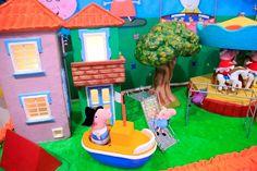 Mamães, papais, titias e vovós, aqui tem festa da Peppa Pig! Tudo sobre esta festa no blog Mamãe Prática. Acesse: http://mamaepratica.com.br/2014/08/22/festa-da-peppa-pig/ decoração infantil, festa infantil, festa, Peppa Pig, festa da Peppa, porquinha, criança, infância