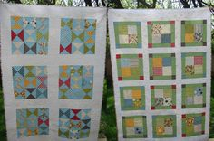 Make Life Quilts - pinwheel & 9 patch | Flickr - Photo Sharing!