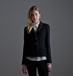 Cain jacket. Available custom-made. http://katherinehooker.com/catalog/winter-collection/cain/