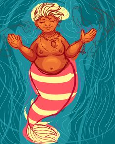 bizarrothatty mermaid