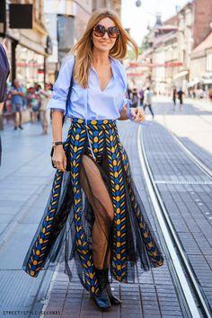 Maja Tedeschi, #fashion, ©photo by Goran Čižmešija / Street Style Seconds