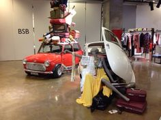 BSB Fashion headquarter's showroom S/S 16 #design