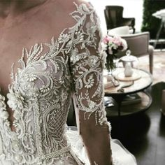 Dream dress by Leah Da Gloria. The details! Custom Wedding Dress, White Wedding Dresses, Bridal Dresses, Wedding Gowns, Prom Dresses, Bridesmaid Dress, Lace Wedding, Matric Farewell Dresses, Dress Vestidos