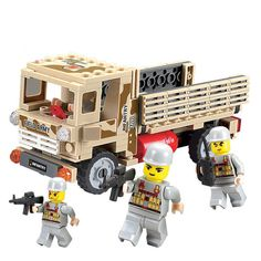 14884027-Combat Troops Personnel Carriers Army Truck Building Blocks Military Bricks Kids Educational Toys Action Figure