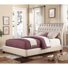 Acme Furniture Pitney Sleigh Bed, Size: Queen - ACM2350-2