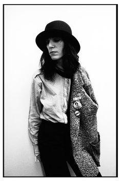 Patti Smith by Kevin Cummins, 1970s