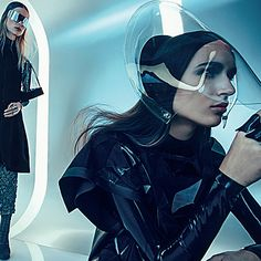 EUROPE FASHION DRESS: Jenna, Lina & Stasha by Sebastian Kim for Vogue Russia April 2015 http://www.fashion.net/today