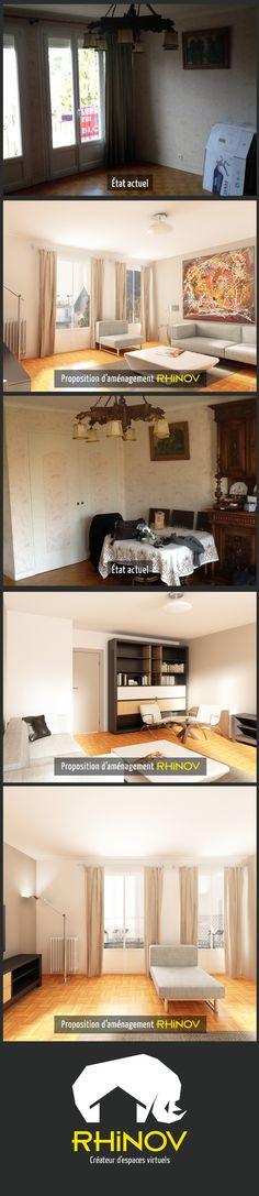 Projet de redistribution d\u0027un appartement à Paris avec une vue