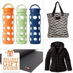 Fitness and health gift guide.