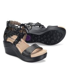 Take a look at this Black Sunset Nubuck Sandal today!