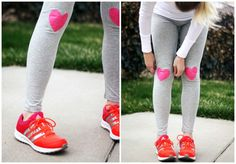 DIY Patterned Leggings/Yoga Pants - The Pretty Life Girls