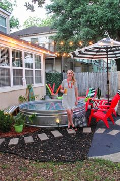You save money on the measure of establishment a cost which can be sizable with in-ground pools. Pool wall are made in a wide range of sorts, using various materials. Some DIY pool may rather not put in a unit… Continue Reading → Backyard Projects, Backyard Patio, Backyard Landscaping, Landscaping Ideas, Backyard Ideas Pool, Patio Ideas, Inexpensive Backyard Ideas, Desert Backyard, Backyard Ideas For Small Yards