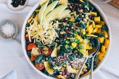 Recipe: Vegetarian Kale Taco Salad — Healthy Comfort Food   Kitchn