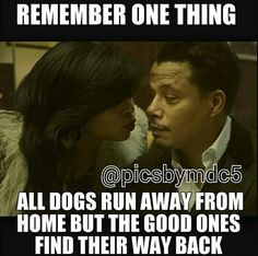 All dogs run away from home