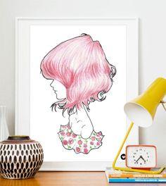 poster menina bonita - 889855 | enjoei :p