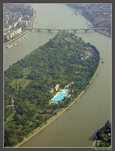 Margaret Island, a large inner city park in the middle of the Danube, Budapest, Hungary Places To Travel, Places To See, Capital Of Hungary, Heart Of Europe, Danube River, Most Beautiful Cities, Park City, Around The Worlds, Island