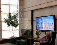 Walsh Construction Interior #windowtreatments #shades #windowshades #solarshades #windows #Chicago  #motorizedshades