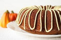 Pumpkin Gingerbread Cake.