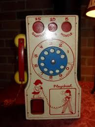 Playskool Telephone... I don't think I had this but I remember playing with one.