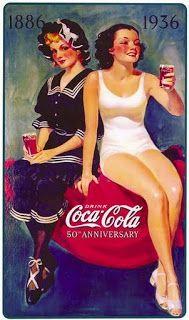 Club del Vintage: CARTELES ANTIGUOS DE COCACOLA