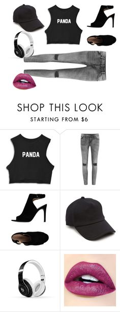 """""""Panda.com"""" by laneyy4375 ❤ liked on Polyvore featuring VILA, Tory Burch, rag & bone and Beats by Dr. Dre"""