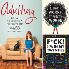 """A Reading Guide For Surviving Your Quarter-Life Crisis   Being a 20-something woman these days can be overwhelming, to say the least. You're navigating the anxieties of postgrad life as an """"adult"""" (whatever that means), sorting through the ups and downs of dating, trying to hold onto friendships with your girlfriends who may be in different stages of life, and hunting for your dream career."""