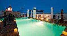 Das 5-Sterne-Hotel Posada del Patio in Malaga empfängt dich mitten im Zentrum mit einem traumhaften Pool auf der Dachterrasse!  Hier kannst du das Hotel entdecken: http://www.ich-brauche-ferien.ch/modernes-hotel-im-zentrum-von-malaga-mit-traumhafter-aussicht/