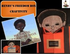 """Henry's Freedom Box Craftivity or """"Henry """"Box"""" BrownTitle: Henry's Freedom Box (Caldecott Honor Book) Author: Ellen Levine Illustrator: Kadir Nelson Kids love doing a variety of arts and crafts as an outlet to be creative and have some fun!This craft uses the book as a starting point for a Social Studies unit on slavery and the Underground Railroad."""