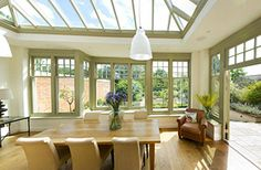 Take a look around this beautiful garden room with a roof lantern to let light stream in. Take a room tour by visiting our 360 degree project gallery on our homepage: http://www.westburygardenrooms.com/