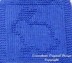 Knitting Cloth Pattern  HIPPITY HOP  PDF  Instant by ezcareknits, $2.85