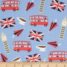 Dear+Stella+London+Calling+London+Motifs+Blue from @fabricdotcom  Designed+by+Jack+and+Lulu+for+Dear+Stella,+this+cotton+print+is+perfect+for+quilting,+apparel+and+home+decor+accents.++Colors+include+blue,+white,+navy,+red,+yellow,+brown+and+beige.