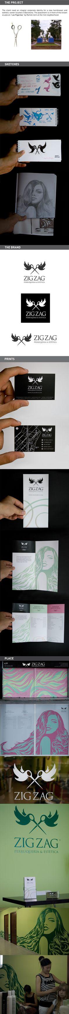 ZIG ZAG / Branding by Roger Haus