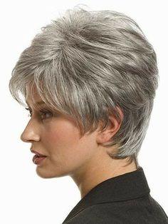 Corte cabello gris