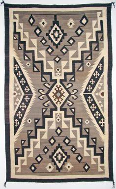 Navajo handspun wool. c, 1920