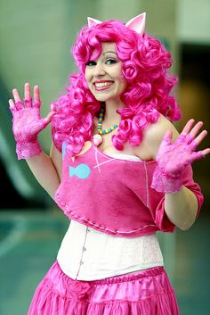 Halloween costume idea Pinkie Pie (My Little Pony  Friendship is Magic )  sc 1 st  Pinterest : pinkie pie costumes  - Germanpascual.Com
