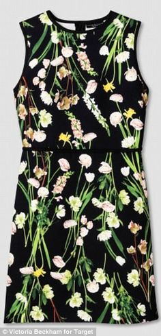 078050f6619 Shop Women s Victoria Beckham Black size M Mini at a discounted price at  Poshmark. Description  Victoria Beckham for Target Women s Black English  Floral ...