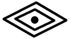 Eye of the Medicine Man Symbol: Avia, I recently got this tattoo, the eye of the medicine man symbol. It's a symbol for wisdom and awareness, on the inside of my left wrist. I got it