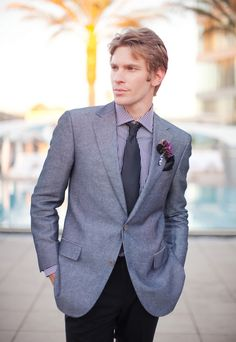 Modern men's formal wear (styled by AVE Styles; Photographed by Melissa Jill)
