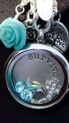 Another pretty Cervical Cancer Origami Owl Locket. Origami Owl Independent Designer #53672 443-680-5903 www.robbierutledge.origamiowl.com Want more than just one locket, consider joining our team for an extra income.