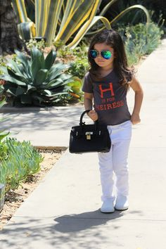 Enjoying summer in these adorable kid's clothes! Featuring @gap and @poshkidsLA