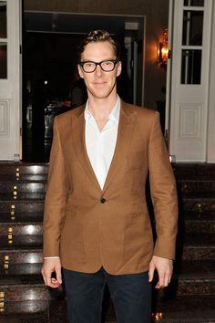 Benedict Cumberbatch - Laureus Welcome Party - 2014 Laureus World Sports Awards