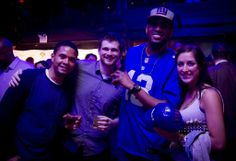 Giant fans flock to uSTADIUM's NFL Draft party to watch Big Blue take WR Odell Beckham #12 overall!