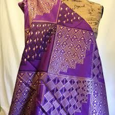 Image result for gold and purple african dress
