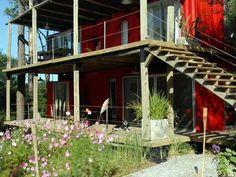 Container Design Loft  (CDL) es un hotel en Punta del Este - Uruguay