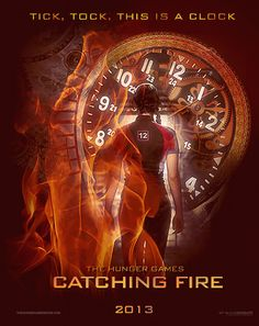 The Hunger Games: Catching Fire Fan Art Poster