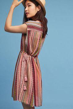 Mattie Yarn-Dyed Tunic Dress