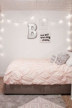 Dream pink cute bedroom decor for teen girls. Pick one cute bedroom style for teen girls, more DIY Dream Castle bedroom ideas will be shown in the gallery and get inspired!