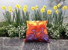 Retro Art Pillow case. 18 inches x 18 inches velvet by ArtFlyBern, $45.00 #pillow #case #art