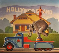 """I highly recommend moving to the Greater LA area for those that feel their lives aren't quite fucked up enough. """"Helping people 'Hit Bottom' Since Day One"""" / Hollywoodland by Robert LaDuke"""