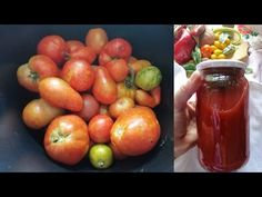 Suc de rosii facut in casa/Homemade tomato juice - YouTube Homemade Tomato Juice, Vegetables, Youtube, Food, Essen, Vegetable Recipes, Meals, Youtubers, Yemek